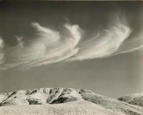 texas springs death valley by edward weston