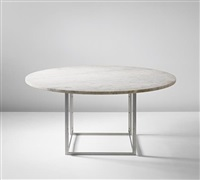 dining table, model no. pk 54 by poul kjaerholm