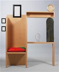solus lady's dresser by mimmo paladino