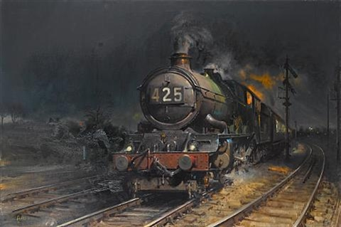 out of the night by terence cuneo