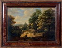 paysage animé by jacques d' arthois