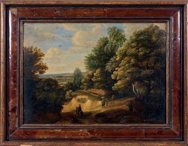 paysage animé by jacques d arthois