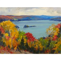 ontario landscape by manly edward macdonald