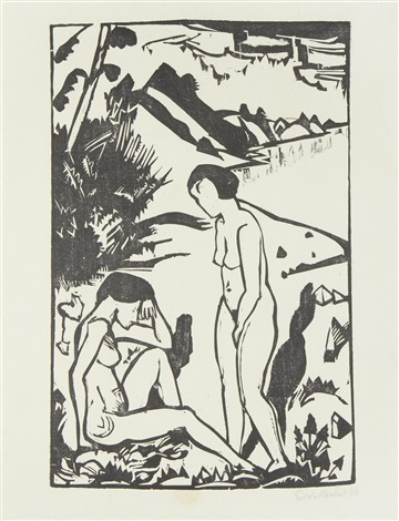 am strand by erich heckel