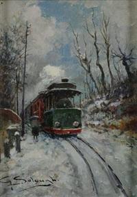 tram per malpensa by giuseppe solenghi