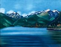 horský jezero zell am see by vlatislav hofmann