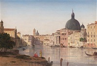 venice, st. simone piccolo by william linton