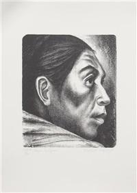 mujer indigena by elizabeth catlett