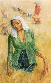 women harvesting by hasim