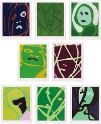 spring angels (in 8 parts) by gary hume