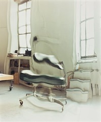 nothing but space - speedy chair by ann lislegaard