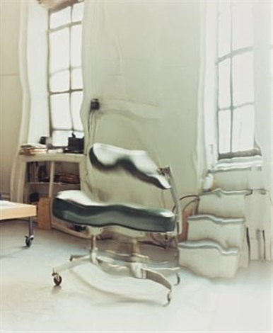nothing but space speedy chair by ann lislegaard