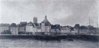 bateaux au port by paul langlois