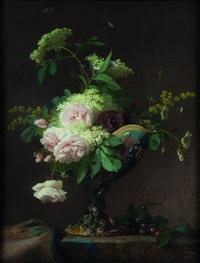 coupe de style bernard palissy au bouquet by françois rivoire