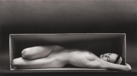 in the box horizontal by ruth bernhard