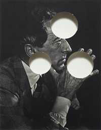 untitled (jean cocteau- portraits of greatness) by cerith wyn evans