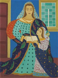 the education of the virgin by djanira (djanira de monta e silva)