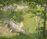 summer landscape by e.charlton fortune