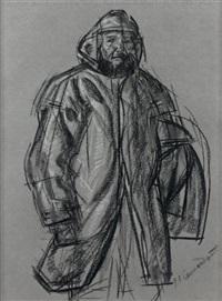 pêcheur by jean julien lemordant