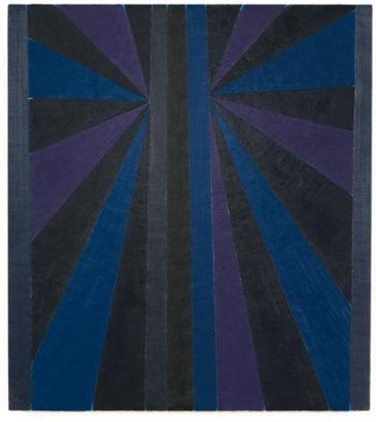 untitled blue butterfly by mark grotjahn