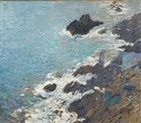 rochers à collioure by henri etienne-martin