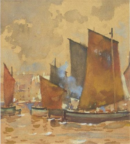 fishing boats by james watterston herald