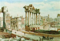 view of rome by françois martin