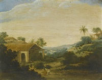 landscape in brazil by frans jansz post
