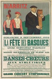 biarritz, la fête des basques, dimanche 9 septembre by ramiro arrue