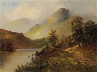 path by the shore, a welsh view by edward davies