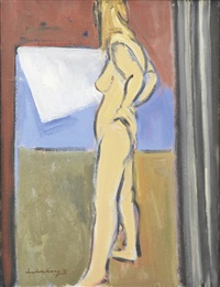 standing nude by ian armstrong