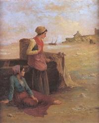 les pêcheuses de crevettes by l. laurenty
