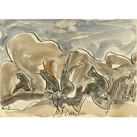 dancing tree forms by arthur dove