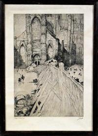 l'église st. nicolas gand by jules de bruycker