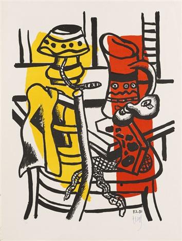 la chaise by fernand léger