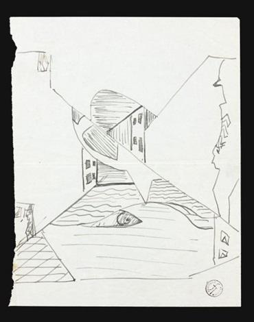 loiseau dans la ville study by léopold survage