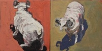 Rams (diptych), 1999