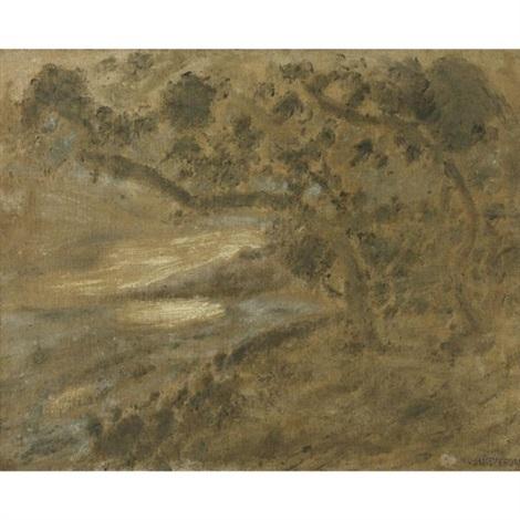 paisaje con uveros by armando reverón