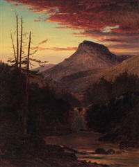 american sunset by american school (19)