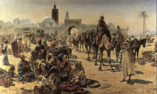 Arab slave market