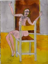 seated woman by robert litchfield juniper