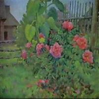 les roses de village by andrian bortzov