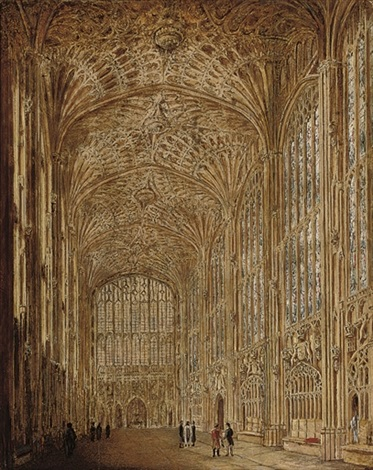 kings college chapel cambridge by joseph murray ince