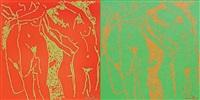 nudes (2 works) by yigit yazici