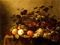 nature morte aux fruits by roelof koets the elder