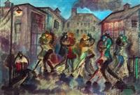 barrio de tango by felipe de la fuente