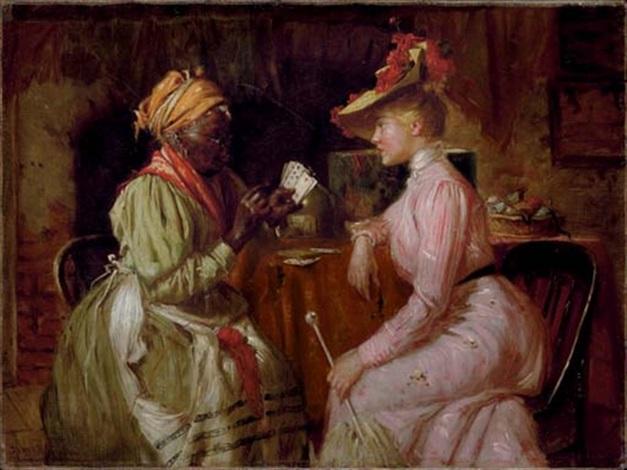 the fortune teller by harry herman roseland on artnet