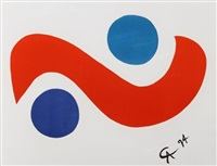 flying colors 1 by alexander calder