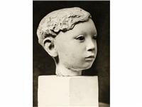 escultura de joan rebull, exposición de primavera, salón de montjuïch by emili godes