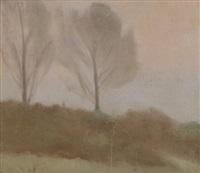 the two trees, near beaumaris by clarice marjoribanks beckett
